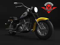 canadian kawasaki motors 3D model