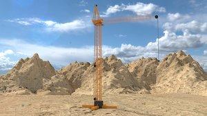 construction crane model
