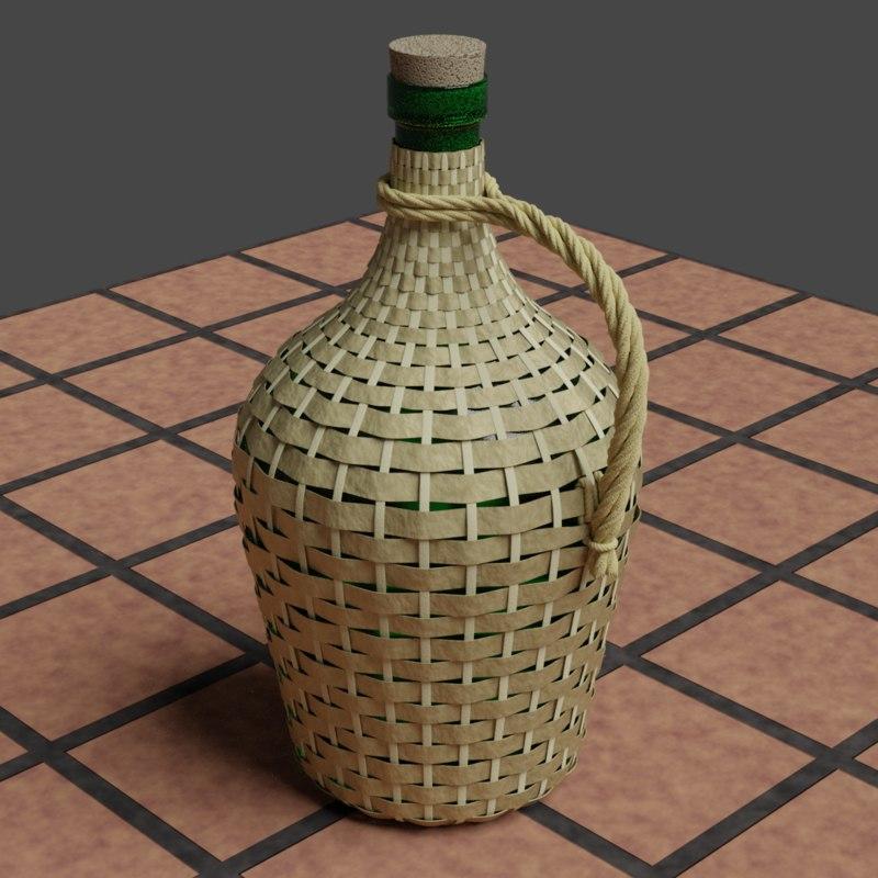 demijohn tavern 3D model