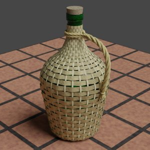 demijohn tavern 3D model