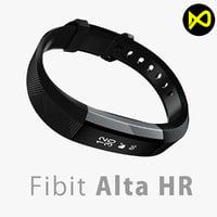Fitbit Alta HR Black Steel