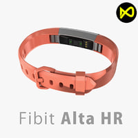 Fitbit Alta HR Coral Steel