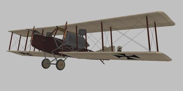 3D world war model
