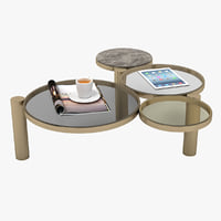 3D espuma coffee table