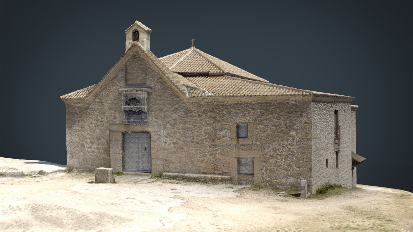 spanish church 3D model