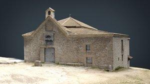 spanish church 3D model