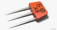 3D transistor kt315 model