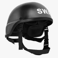 3D usa police swat