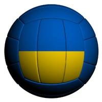 3D volleyball ball model