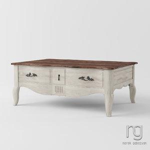 3D tables df809 model