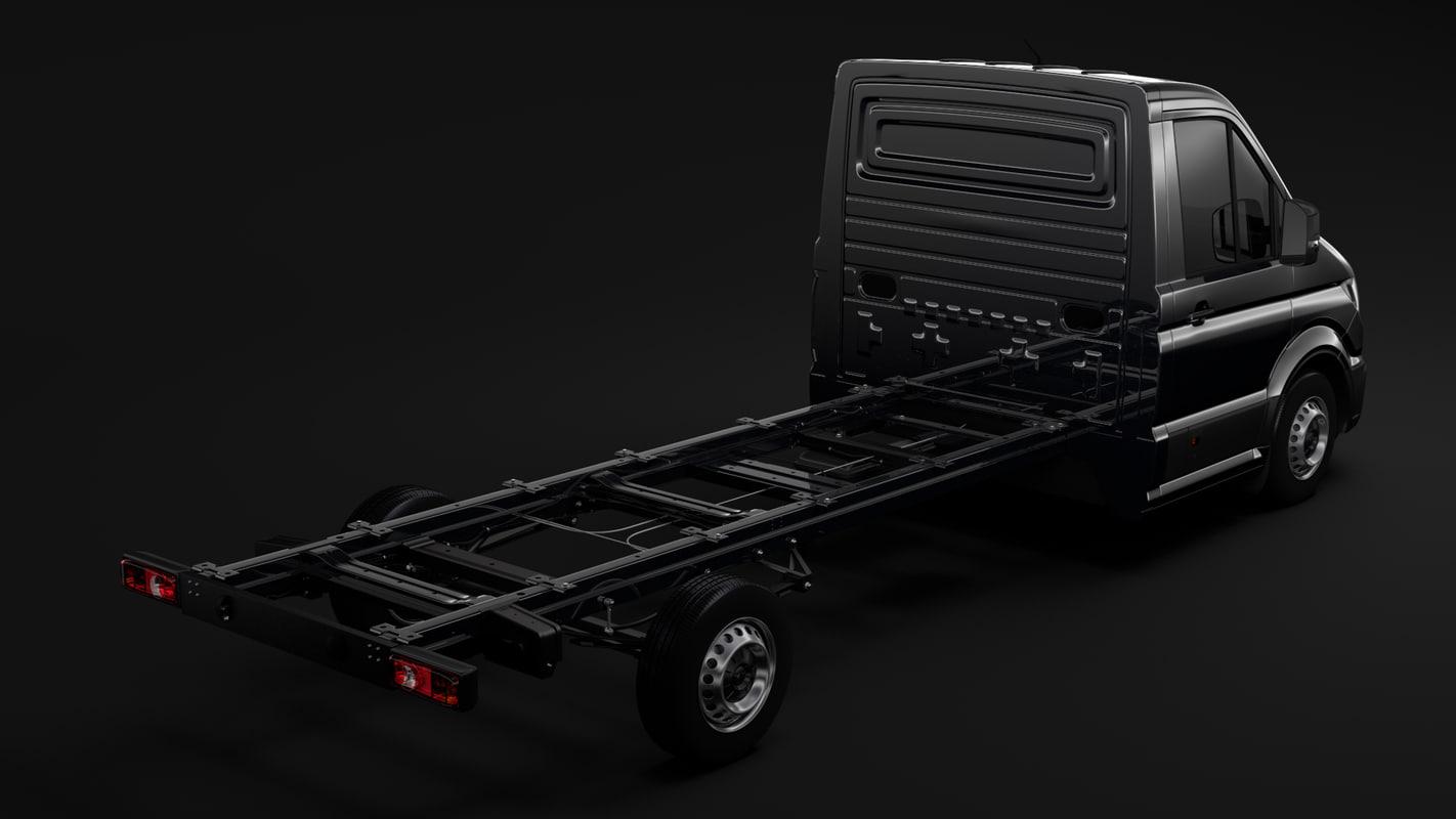 man tge chassis l2 3D