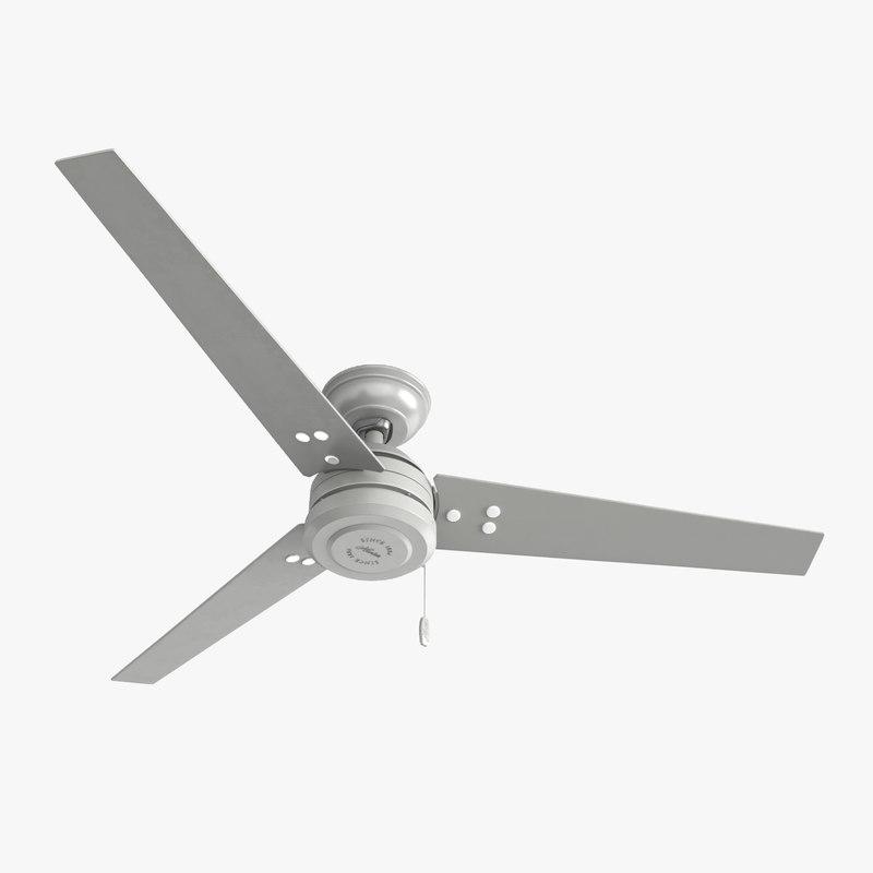 ceiling fan - hanter 3D model