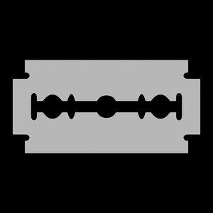 3D model blade cutter razor