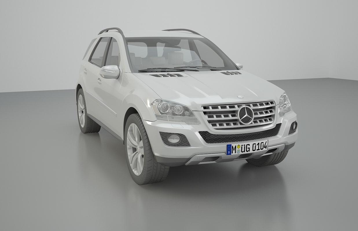 mercedes ml 500 model