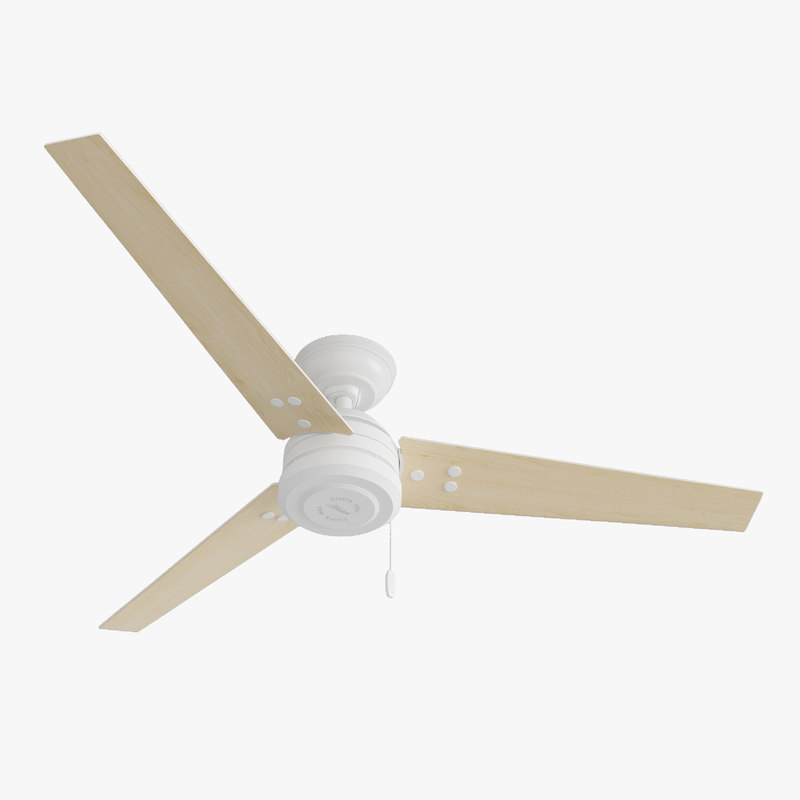 ceiling fan - hanter 3D model