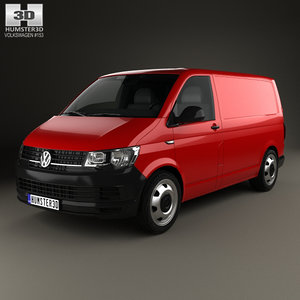 volkswagen transporter t6 3D