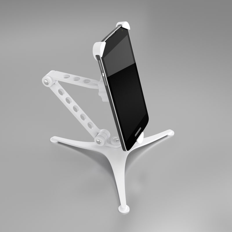modern smartphone holder mobile phone 3D