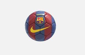 3D soccer ball barcelona