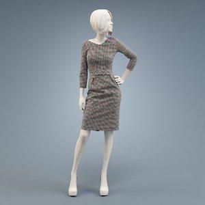 dress case burda model