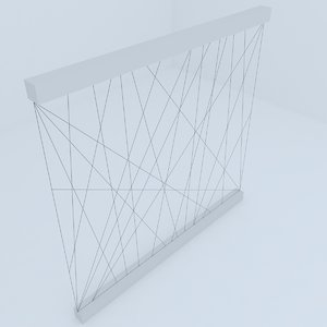 fence railing model