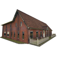 house colonial 3D