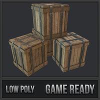 Cargo Crates PBR