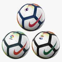 3D official balls nike ordem model