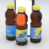 beverage bottle nestea lemon model