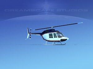 rotor bell 206 3D model