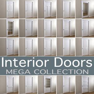 3D common interior doors
