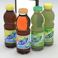 beverage bottle nestea 3D