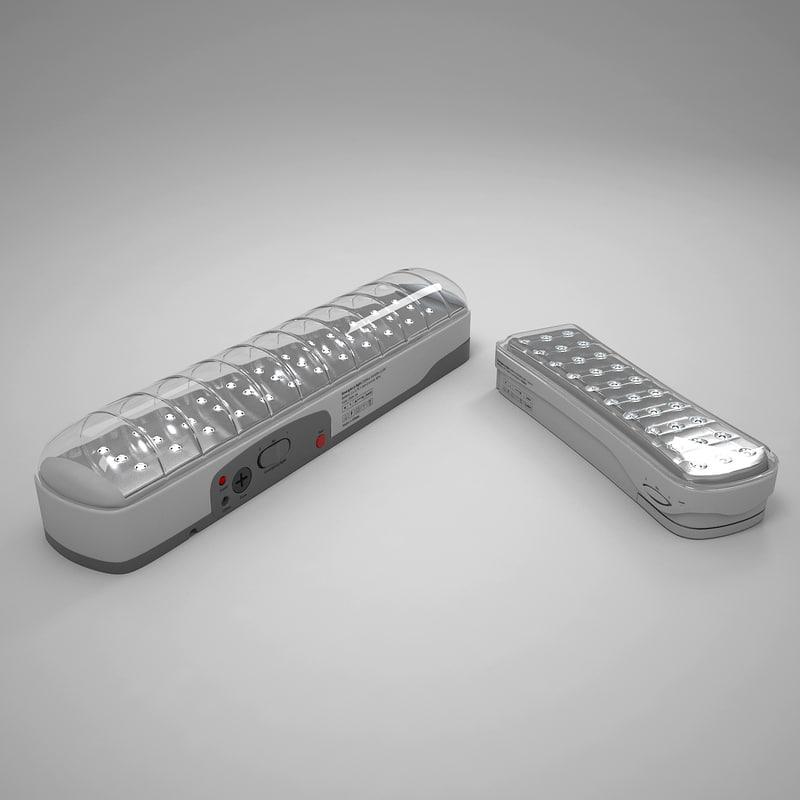 emergency lights model