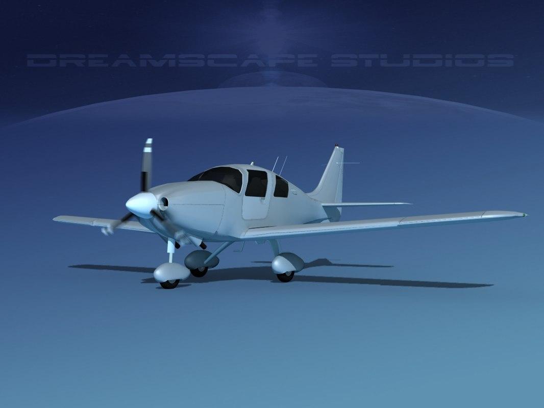 propeller cessna 400 ttx 3D model