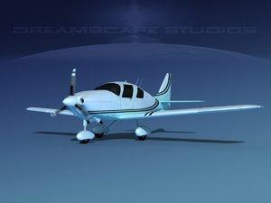 3D propeller cessna 400 ttx