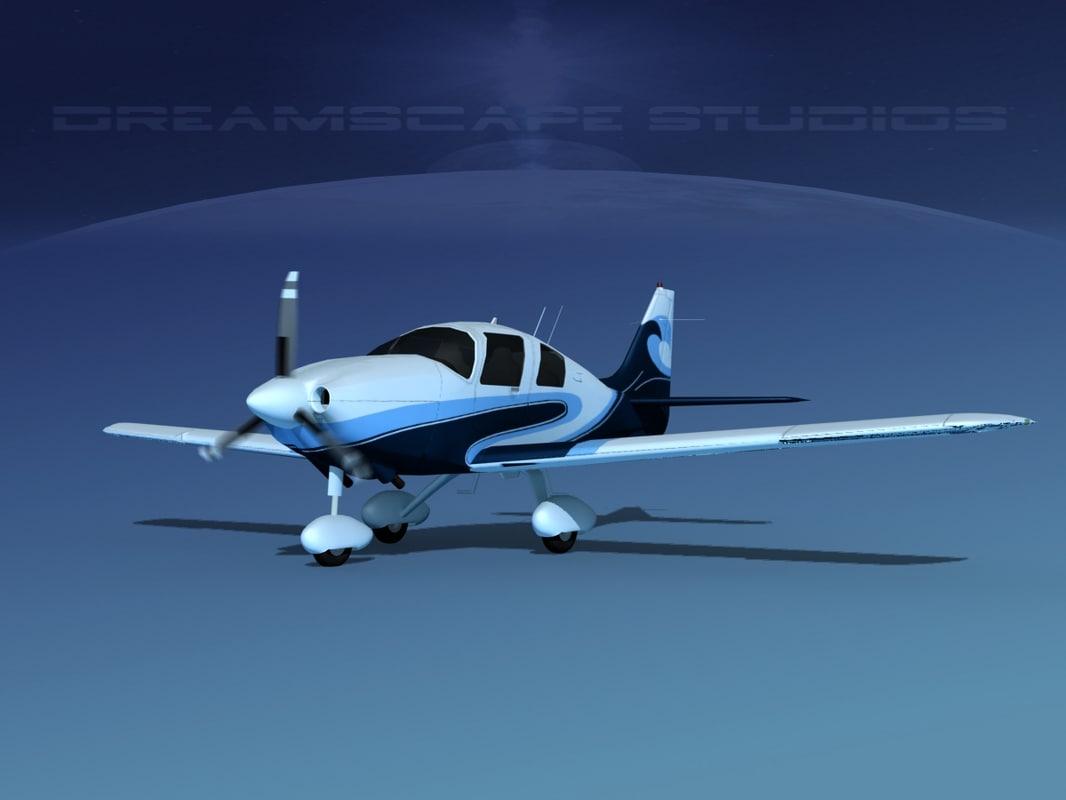 3D propeller cessna 400 ttx model