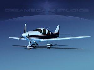 3D model propeller cessna 400 ttx