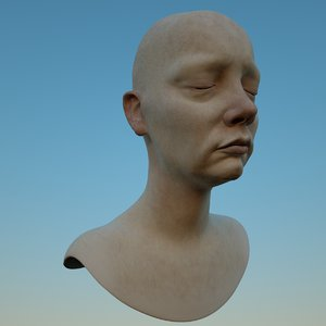 female head mia model