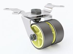 castor 01 07 3D model