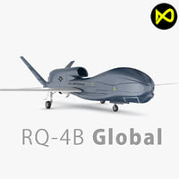 northrop grumman global 3D model