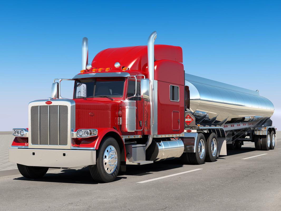3D 389 tanker