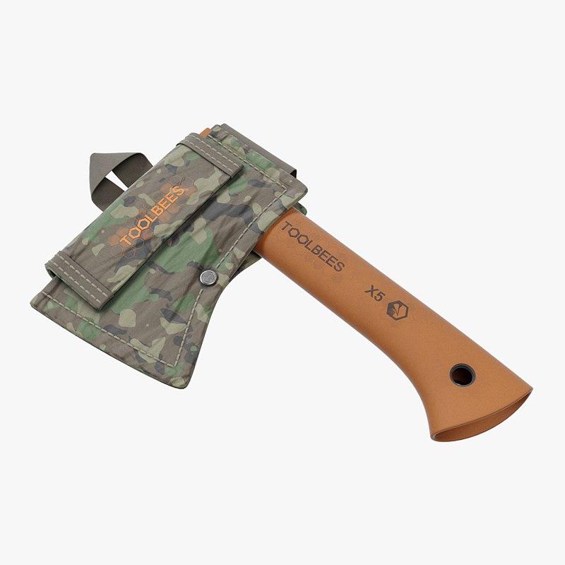 3D camping axe sheath model