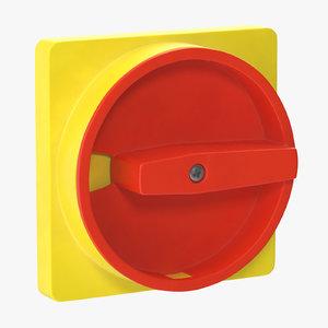 knob 01 03 3D model