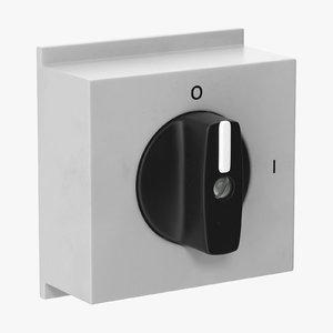 3D knob 01 05 model