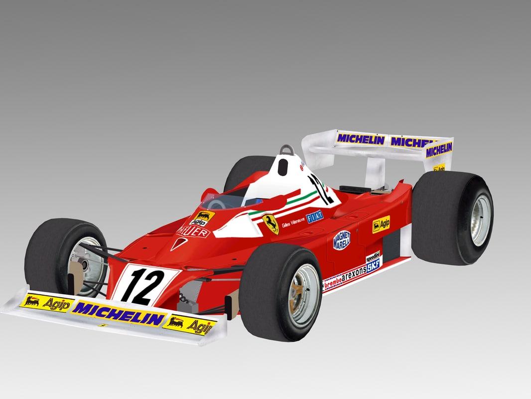 f1 1978 312t3 3D
