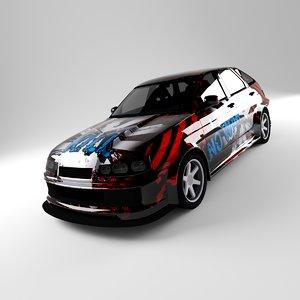 21012 lada 3D model