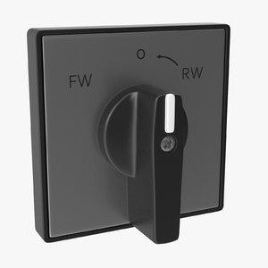 3D knob 01 08 model
