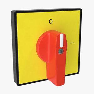 3D model knob 01 10