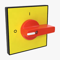 knob 01 11 3D model
