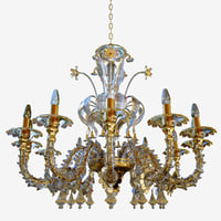 chandeliers lights sylcom 1470 3D
