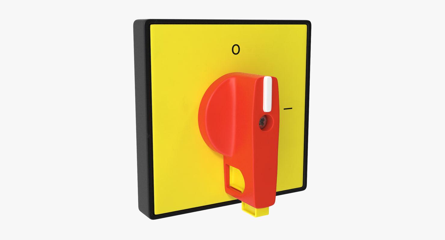 knob 01 13 3D model